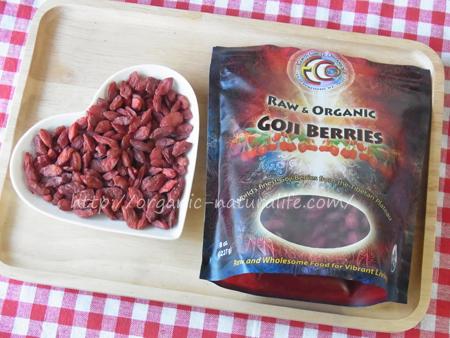 チベットで育った有機クコの実 Earth Circle Organics ロー&オーガニックゴジベリー 227g パラパラだけど硬くない、程よい柔らかさでジューシー!そのまま食べてもとても美味しい!