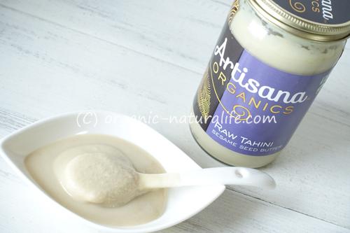Artisana オーガニックロータヒニ セサミシードバターを食べてみた!絶妙な美味しさ!スムージーも作ってみた