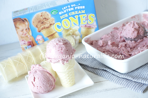 Edward & Sons グルテンフリー アイスクリームコーンのレビュー!オーガニックヴィーガンアイスクリームと一緒に食べてみた